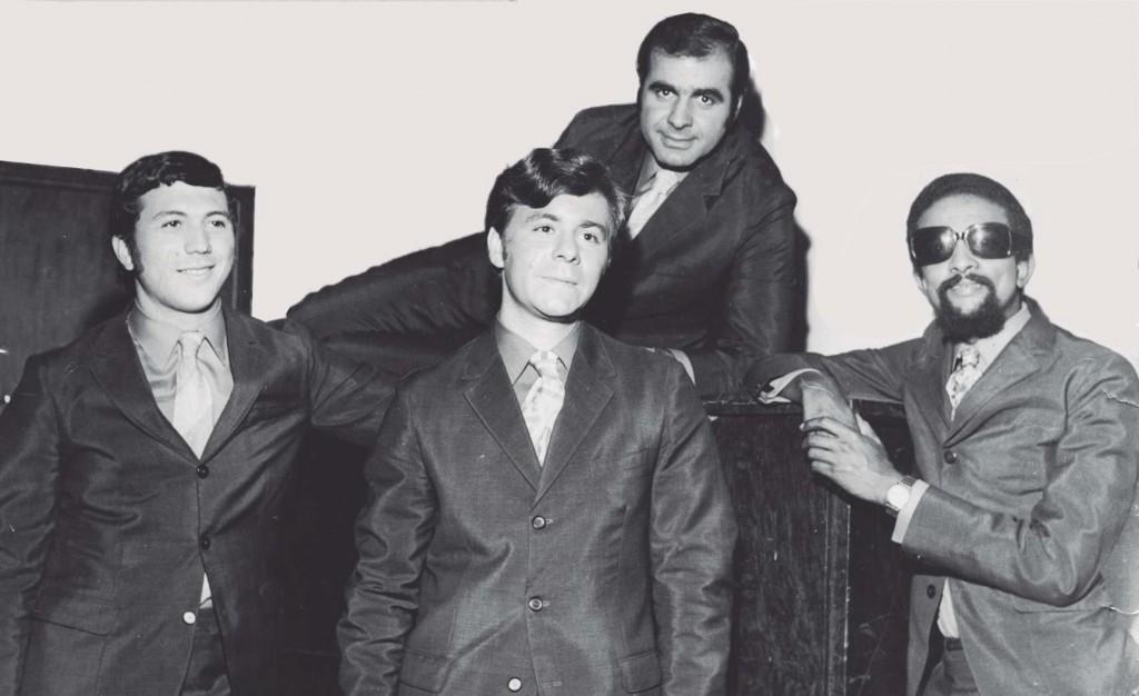 O Bitten-4. Fernando Loko, Anadir e Lápis. Atrás, o Dalton.